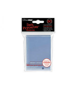 Ultra pro standard sleeves clear
