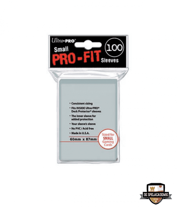 Ultra Pro Pro Fit Small Sleeves (60x87mm)